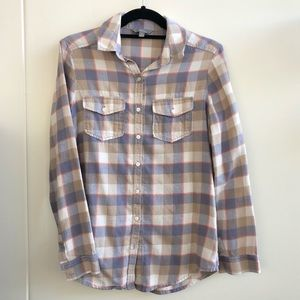 Softened Flannel Button down